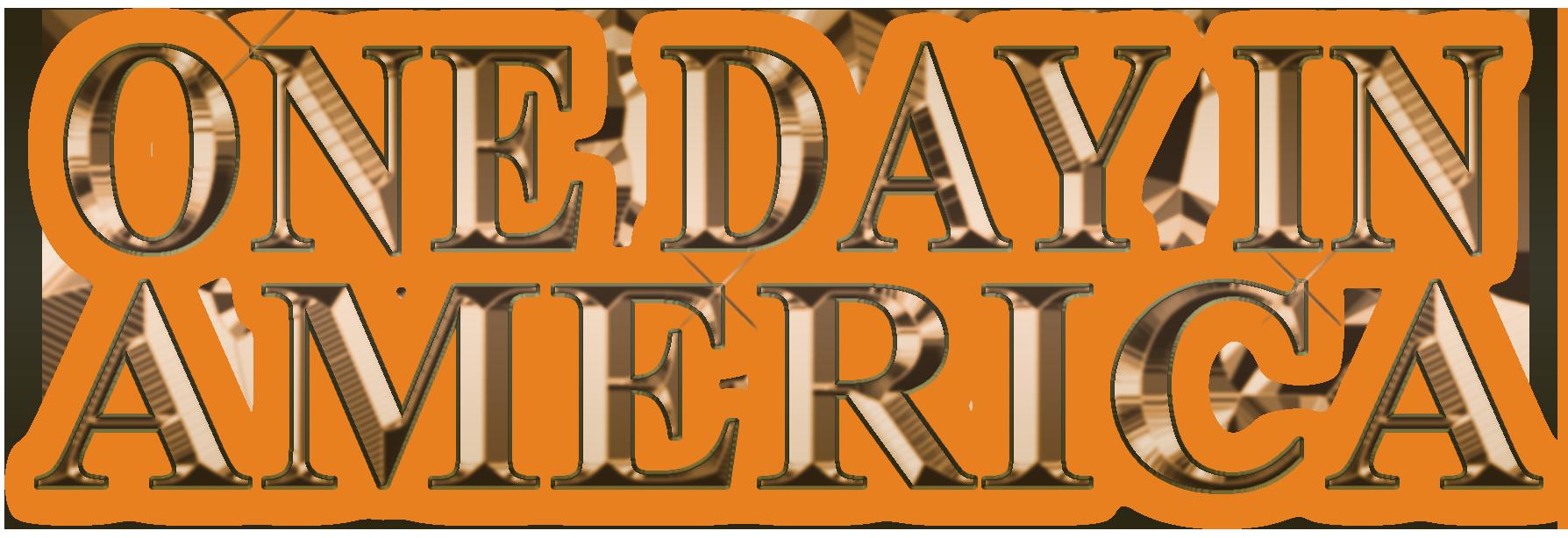 ONE DAY IN AMERICA Logo