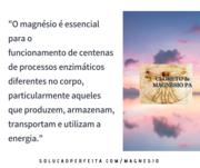 Magnésio e Energia