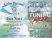 Steelpan Tuning Workshop, with Andy Neils Intonation Specialist