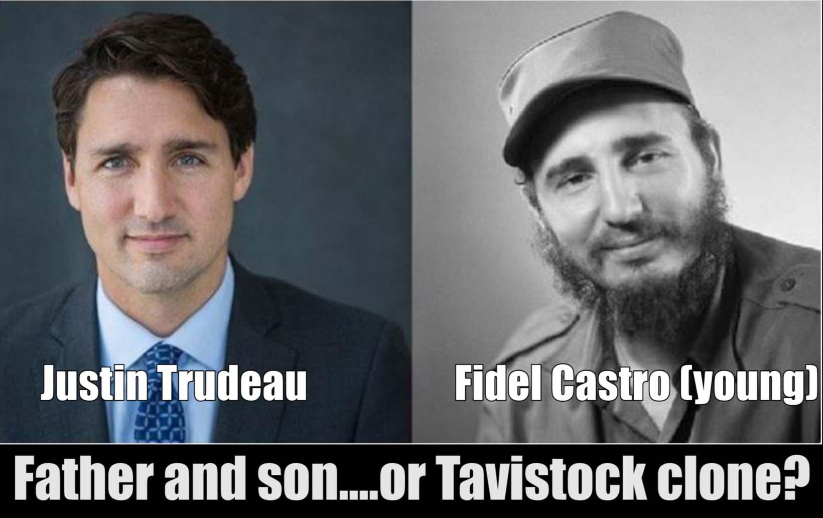 Trudeau-castro-clone