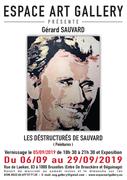Affiche Gěrard SAUVARD