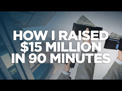 How I Raised $15 Million in 90 Minutes - Real Estate Investing Made Simple