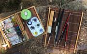 Japanese watercolor workshop.......