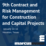 9th Contract and Risk Management for Construction and Capital Projects