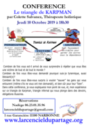 Conférence gratuite Triangle de Karpman par Colette Salvanez