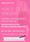 Voice Club Singers, Coaching Choir - Crouch End