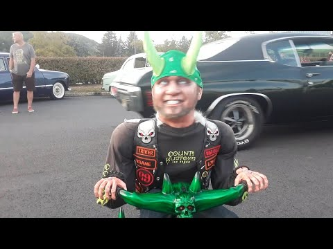 Counting Cars' Horny Mike's Mini Me Trike Creating Havoc  At the 2019 DMC Wild Hot Rod Weekend