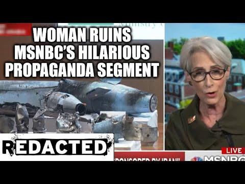 Woman Ruins MSNBC's Hilarious Propaganda Segment