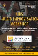 JCAST Kids Music Improvisation Workshop
