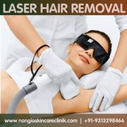 Remove unwanted hair with most advanced laser treatment