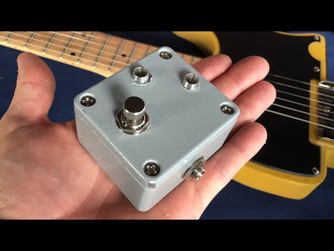 Making a Mini Guitar Pedal Selector Switch