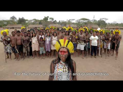 Message From the Xingu Peoples