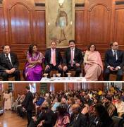 Sandeep Marwah addressed British Indians at India High Commission