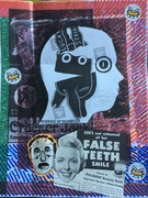 false teeth add and pass