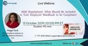 2020 Regulations!Employee Handbook