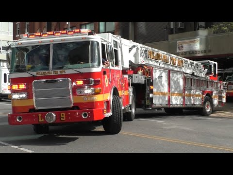 Philadelphia Ladder 9 Responding