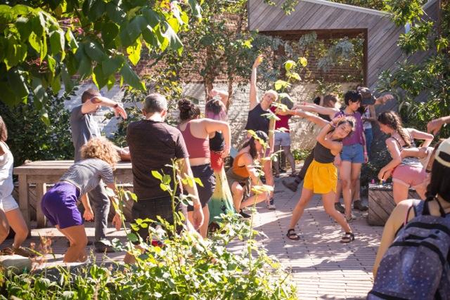 9/29/2019 OUTSIGHT Garden Performance w/ Artist Effy GreyGrey