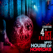 NPFD HOUSE OF HORRORS