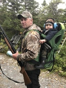 Start em early on a grouse hunt