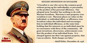 Hitler on Socialism