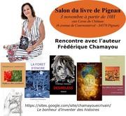 Dédicace au Salon du livre de Pignan (Hérault-France)
