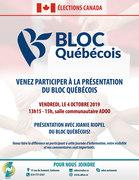 Présentation du Bloc Québécois