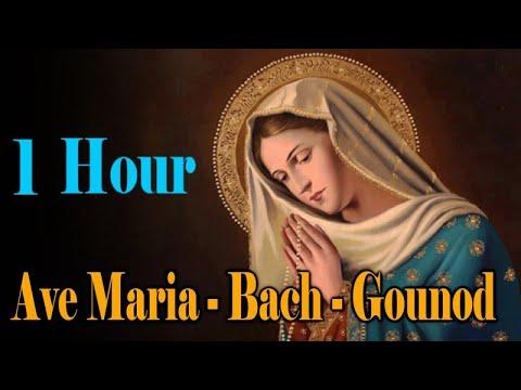 Ave Maria Gounod | Relaxing Classic Piano Music | 1 HOUR | Ave Maria Bach Gounod