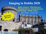 Imaging in Dublin 2020