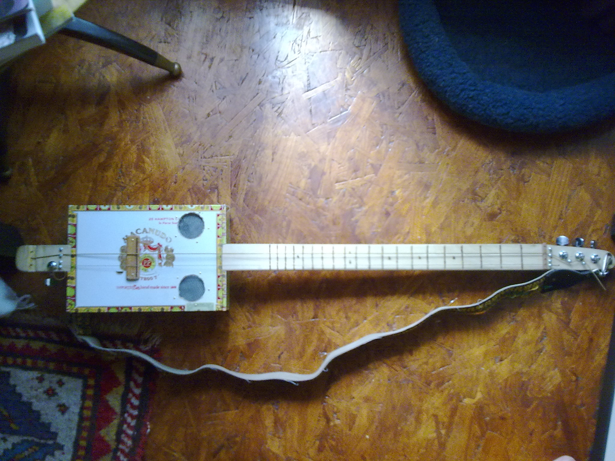 A Relatively Easy Winding Free Way To Make Pickup Cigar Box Nation Wiring Single Two Wire Humbucker Permalink
