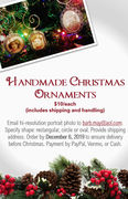Handmade Vintage Christmas Ornaments