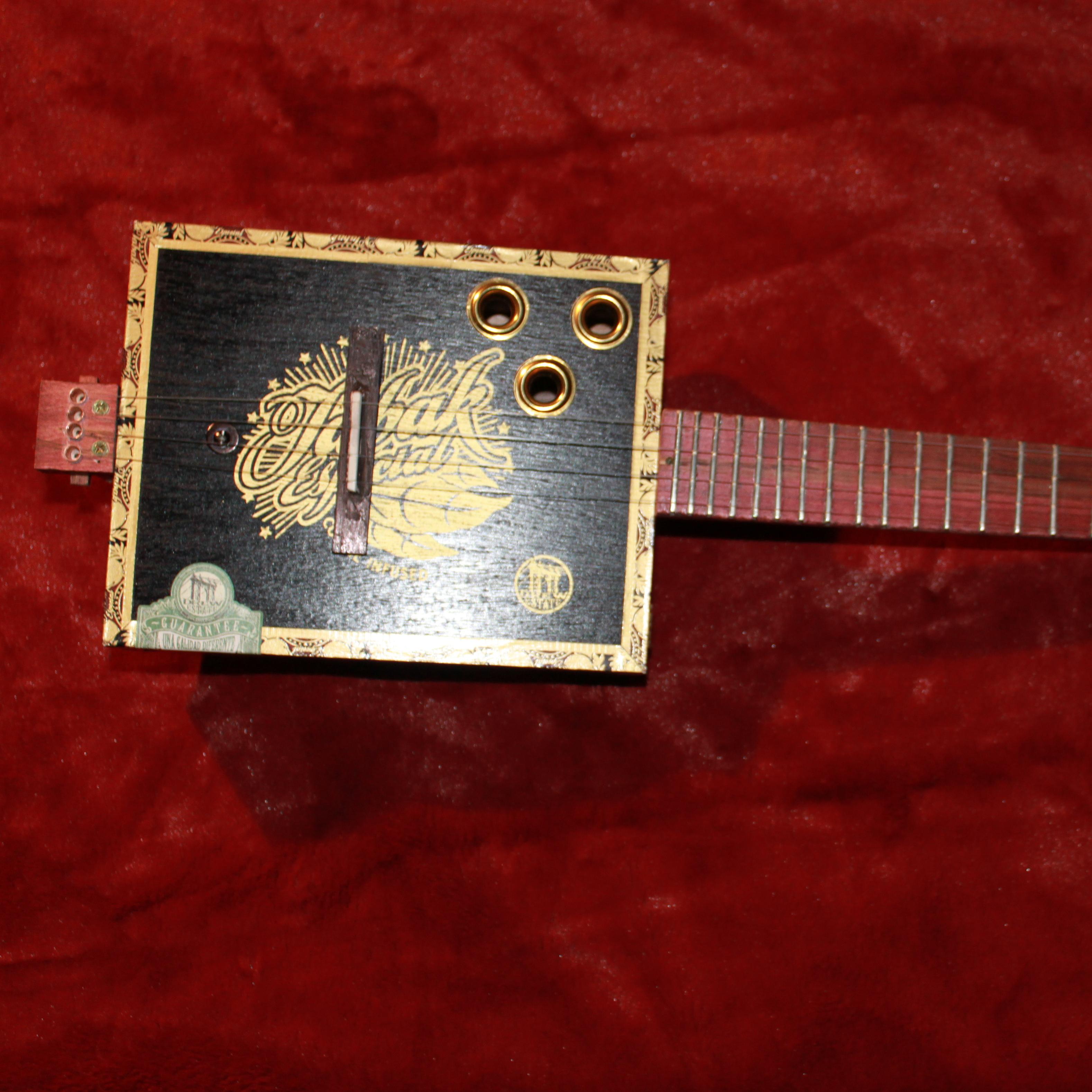 Cigar Box Basses Nation Wiring A Single Two Wire Humbucker 3 String Bass Guitar Parts