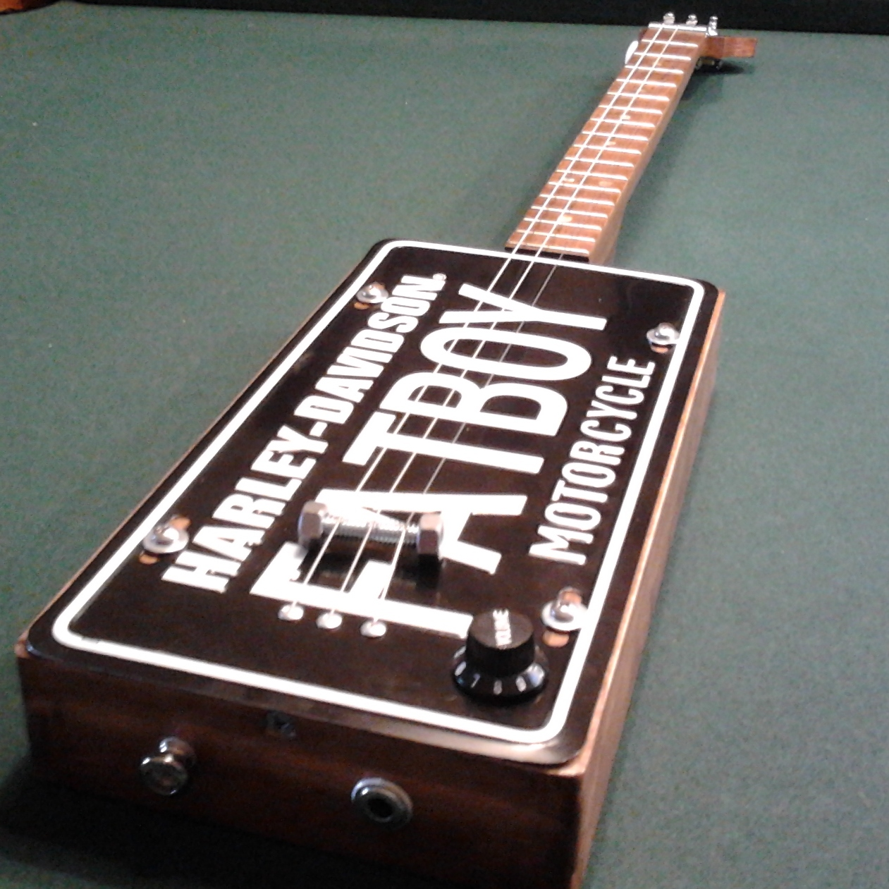 Cable Tie Frets Cigar Box Nation Wiring A Single Two Wire Humbucker You Need To Be Member Of Add Comments Join