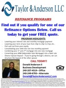 Donald Anderson Refiance Flyer