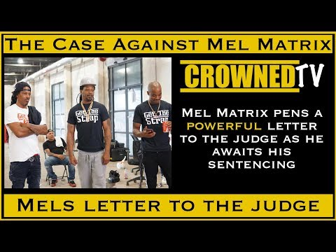 Mel Matrix writes powerful letter to judge in Treyway case