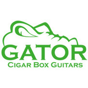 Gator Cigar Box Guitars