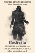 NOSFERATU - cinema classic to live organ improv