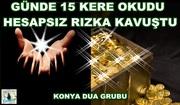 Günde 15 Kere Okudu Hesapsız Rızka Kavuştu Konya Dua Grubu