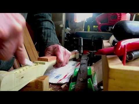 Peg Box for Hobo Fiddle
