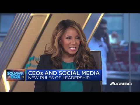 Marvet Britto, The Britto Agency CEO, discuss the issues for executives on social media