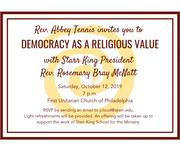 Democracy as a Religious Value