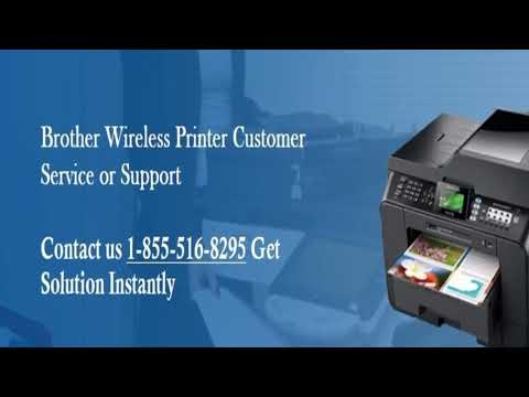 Brother Printer Support Number 1-855-516-8295 USA