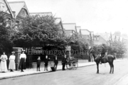 Mounted Policeman on Palace Road, Crouch End, c1905