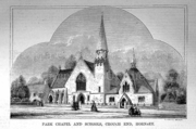Old Park Chapel Crouch End, 1863