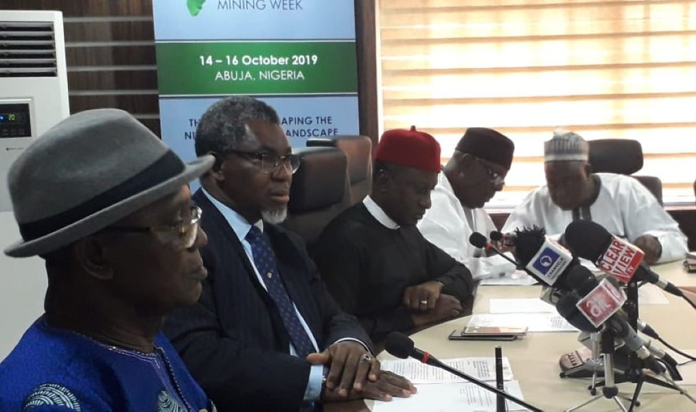 Nigerian mining minister Olamilekan Adegbite pledges to increase support for Nigeria Mining Week