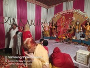 Navaratri Aarti at GAIL Apartments sector 62 Noida on 7 October