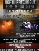 2019 North Patchogue Fire Department OPEN HOUSE AND FIRE PREVENTION