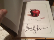 My new Madonna signed book, Mr. Peabody's Apples