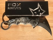 FOX 479 Neptune Kryptek G10 Scales