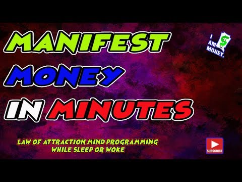 How To Manifest Money Fast | Mind Programming Mp3