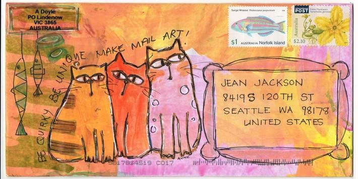 sent to Jean Jackson